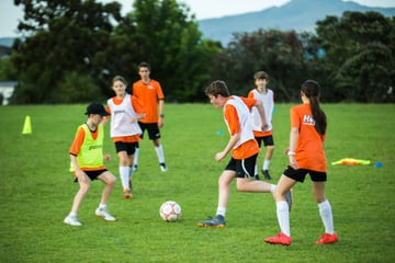 Hup Soccer Skills training and development on show